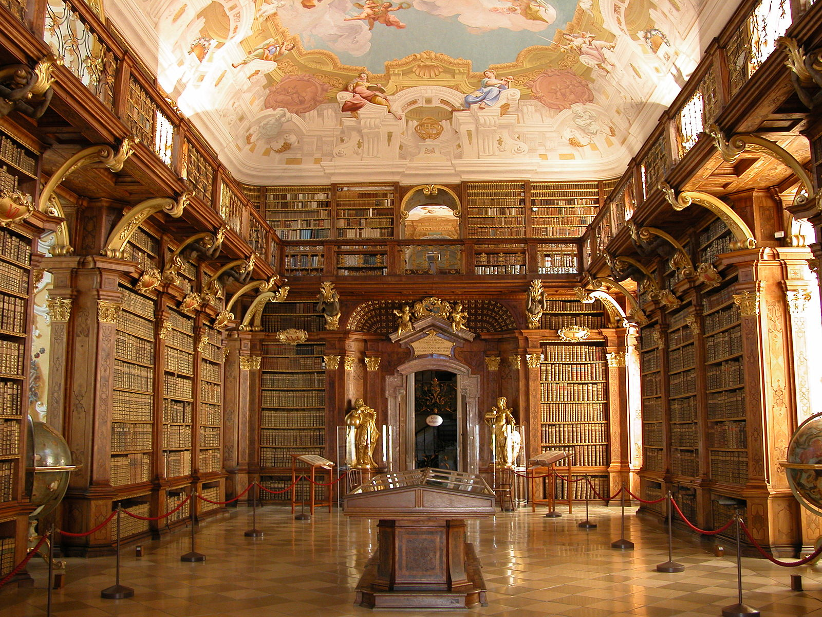 Libraries and Special Collections: Visiting Libraries in Austria